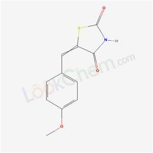 6320-51-0,5-[(4-methoxyphenyl)methylidene]thiazolidine-2,4-dione,2,4-Thiazolidinedione, 5-p-methoxybenzylidene-