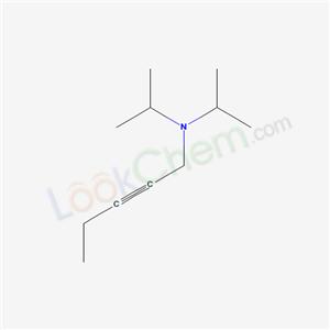 6323-69-9,N,N-dipropan-2-ylpent-2-yn-1-amine,