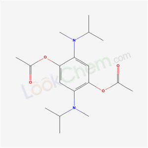 6267-92-1,[4-acetyloxy-2,5-bis(methyl-propan-2-yl-amino)phenyl] acetate,