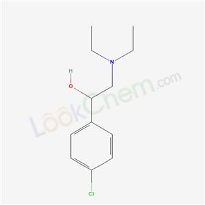 67428-77-7,1-(4-chlorophenyl)-2-diethylamino-ethanol,