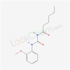 6302-78-9,N-[(2-methoxyphenyl)carbamoyl]hexanamide,