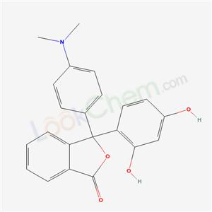 6310-69-6,3-(2,4-dihydroxyphenyl)-3-(4-dimethylaminophenyl)isobenzofuran-1-one,