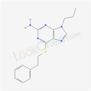 93017-05-1,6-phenethylsulfanyl-9-propyl-purin-2-amine,