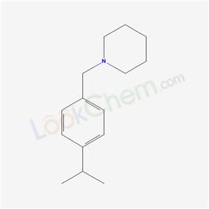 6947-73-5,1-[(4-propan-2-ylphenyl)methyl]piperidine,