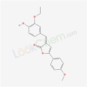 6621-91-6,3-[(3-ethoxy-4-hydroxy-phenyl)methylidene]-5-(4-methoxyphenyl)furan-2-one,