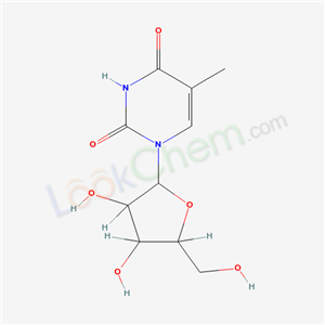 1-[3,4-dihydroxy-5-(hydroxymethyl)oxolan-2-yl]-5-methyl-pyrimidine-2,4-dione cas  52486-19-8