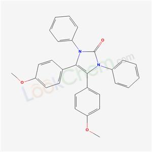 70266-19-2,4,5-bis(4-methoxyphenyl)-1,3-diphenyl-imidazol-2-one,
