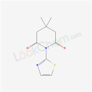 16131-64-9,4,4-dimethyl-1-(1,3-thiazol-2-yl)piperidine-2,6-dione,