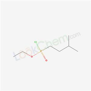 59274-31-6,1-(chloro-ethoxy-phosphoryl)-3-methyl-butane,