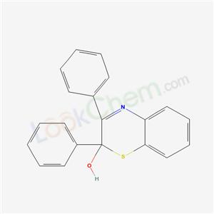 7567-04-6,8,9-diphenyl-10-thia-7-azabicyclo[4.4.0]deca-1,3,5,7-tetraen-9-ol,