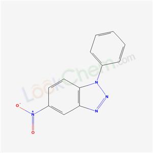 75116-67-5,5-nitro-1-phenyl-benzotriazole,