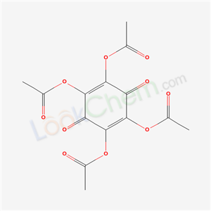 Molecular Structure of 20129-61-7 ((2,4,5-triacetyloxy-3,6-dioxo-1-cyclohexa-1,4-dienyl) acetate)