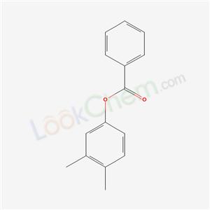 3845-63-4,(3,4-dimethylphenyl) benzoate,