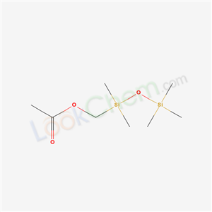 Molecular Structure of 18236-21-0 ((dimethyl-trimethylsilyloxy-silyl)methyl acetate)