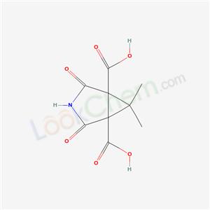 91004-47-6,6,6-dimethyl-2,4-dioxo-3-azabicyclo[3.1.0]hexane-1,5-dicarboxylic acid,