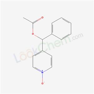 39574-25-9,[(1-oxidopyridin-4-yl)-phenyl-methyl] acetate,