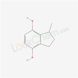 19660-85-6,1-methyl-2,3-dihydro-1H-indene-4,7-diol,