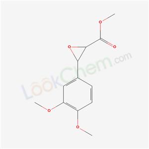 39829-15-7,methyl 3-(3,4-dimethoxyphenyl)oxirane-2-carboxylate,