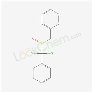 30505-98-7,(benzylsulfinyl-dichloro-methyl)benzene,