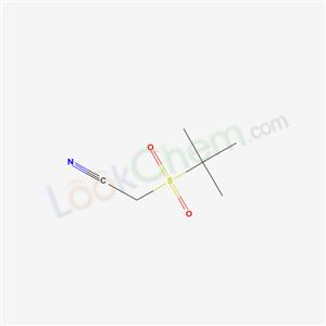 81536-18-7,2-tert-butylsulfonylacetonitrile,TERT-BUTANESULPHONYLACETONITRILE;TERT-BUTANESULFONYLACETONITRILE;t-butylsulfonylacetonitrile;