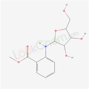 26909-52-4,methyl 2-[[3,4-dihydroxy-5-(hydroxymethyl)oxolan-2-yl]amino]benzoate,