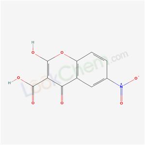 6087-65-6,4-Hydroxy-6-(hydroxy(oxido)amino)-2-oxo-2H-chromene-3-carboxylic acid,