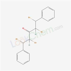 19922-77-1,1,2,4,5-tetrabromo-1,5-diphenyl-pentan-3-one,