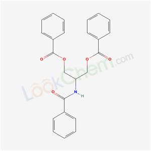 71811-34-2,(2-benzamido-3-benzoyloxy-propyl) benzoate,