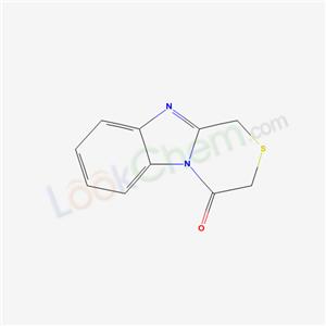 19950-83-5,1H-[1,4]Thiazino[4,3-a]benzimidazol-4 (3H)-one,1H-[1,4]Thiazino[4,3-a]benzimidazol-4(3H)-one;1H-Benz[4,5]imidazo[2,1-c][1,4]thiazin-4-on;4-Oxo-3,4-dihydro-1H-<1,4>thiazino-<4,3-a>benzimidazol;1H-benz[4,5]imidazo[2,1-c][1,4]thiazin-4-one;1H-benzo[4,5]imidazo[2,1-c][1,4]thiazin-4-one;