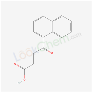Molecular Structure of 4653-13-8 (4-Naphthalen-1-yl-4-oxo-butanoic acid)