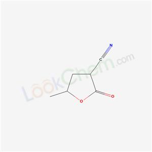 76263-39-3,5-methyl-2-oxo-oxolane-3-carbonitrile,