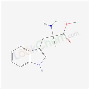 4734-08-1,methyl 2-amino-3-(1H-indol-3-yl)-2-methyl-propanoate,