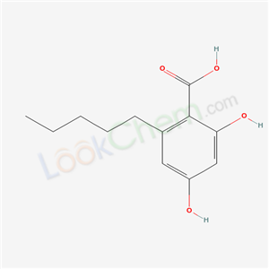 beta-Resorcyclic acid, 6-pentyl-