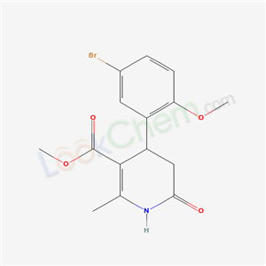 5554-55-2,methyl 4-(5-bromo-2-methoxy-phenyl)-2-methyl-6-oxo-4,5-dihydro-1H-pyridine-3-carboxylate,