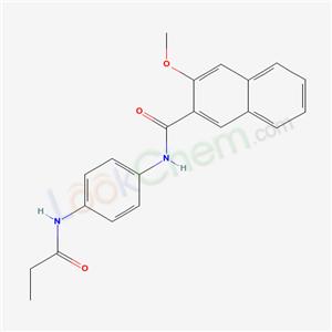5838-24-4,3-methoxy-N-[4-(propanoylamino)phenyl]naphthalene-2-carboxamide,