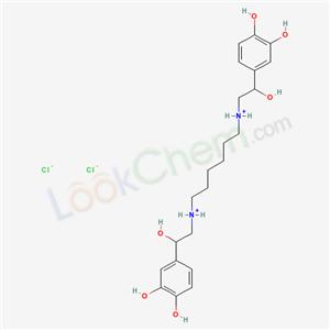 Molecular Structure of 4323-43-7 (HEXOPRENALINE DIHYDROCHLORIDE)