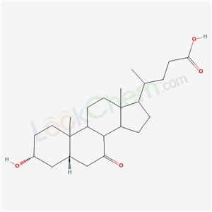 3-Hydroxy-7-oxocholan-24-oic acid