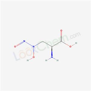 Propionic acid, 2-amino-3-(hydroxynitrosamino)-, monosodium salt
