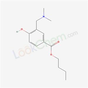 6279-54-5,BUTYL-3-((DIMETHYLAMINO)METHYL)-4-HYDROXYBENZOATE,