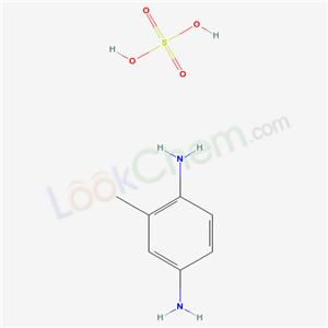 CAS NO:6369-59-1 p-TOLUENEDIAMINE SULFATE Molecular Structure