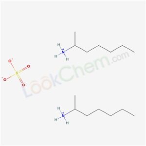 Molecular Structure of 6411-75-2 (2-AMINOHEPTANE SULFATE)