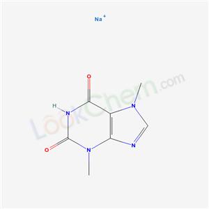 Molecular Structure of 8048-31-5 (THEOBROMINE SODIUM SALICYLATE)