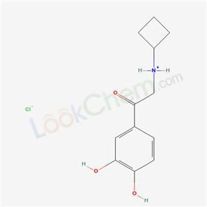 13329-34-5,2-(Cyclobutylamino)-3,4-dihydroxy-acetophenone hydrochloride,