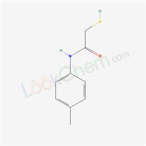 34282-30-9,N-(4-methylphenyl)-2-sulfanyl-acetamide,