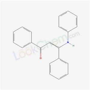 20964-94-7,3-anilino-1,3-diphenyl-prop-2-en-1-one,