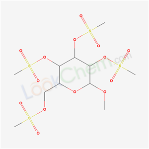 2-methoxy-3,4,5-tris(methylsulfonyloxy)-6-(methylsulfonyloxymethyl)oxane