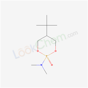 39536-49-7,N,N-dimethyl-2-oxo-5-tert-butyl-1,3-dioxa-2$l^C<sub>9</sub>H<sub>20</sub>NO<sub>3</sub>P-phosphacyclohexan-2-amine,