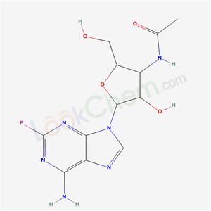 56209-73-5,N-[5-(6-amino-2-fluoro-purin-9-yl)-4-hydroxy-2-(hydroxymethyl)oxolan-3-yl]acetamide,