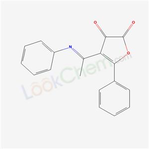 88556-36-9,5-Phenyl-4-(1-(phenylimino)ethyl)-2,3-furandione,