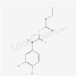 19079-22-2,Carbonic acid, thio-, anhydrosulfide with 4-bromo-3-chlorodithiocarbanilic acid, ethyl ester,